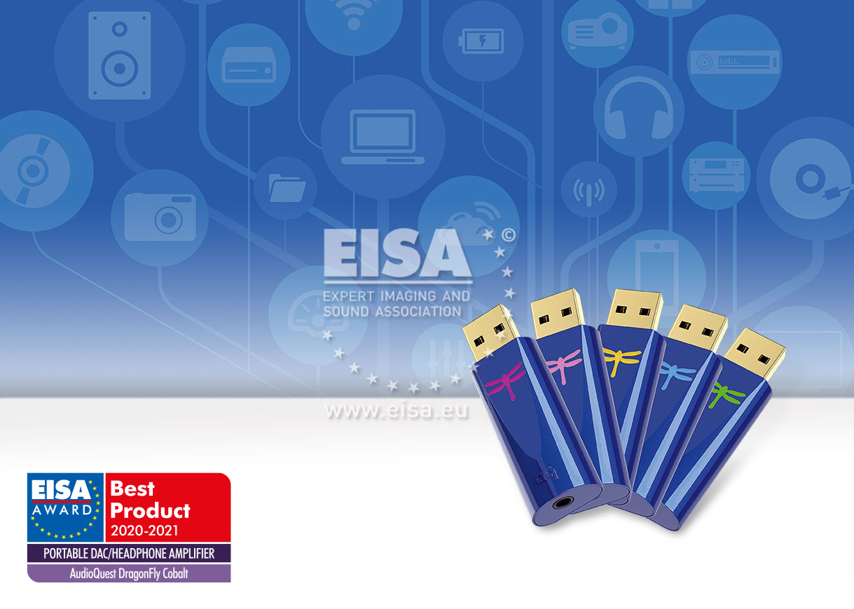 EISA PORTABLE DAC/HEADPHONE AMPLIFIER 2020-2021