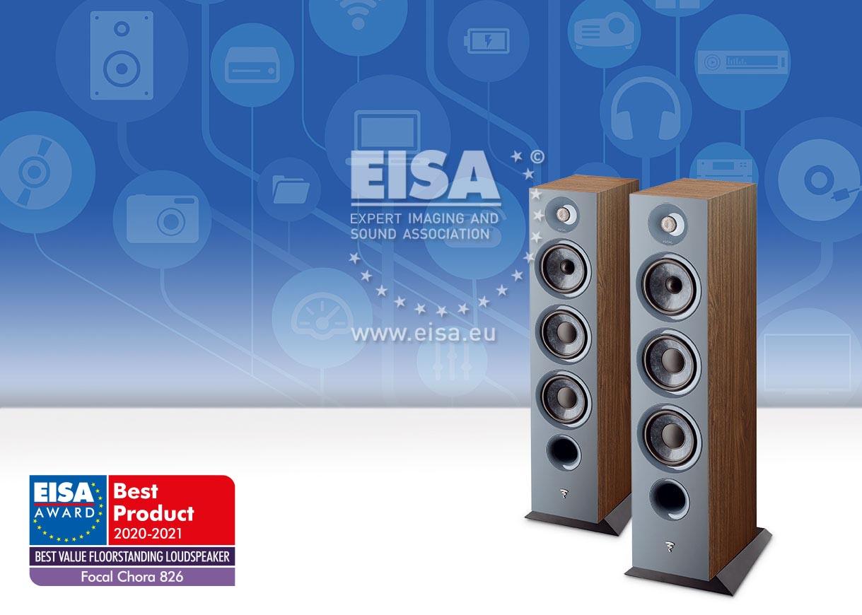 EISA BEST VALUE FLOORSTANDING LOUDSPEAKER 2020-2021