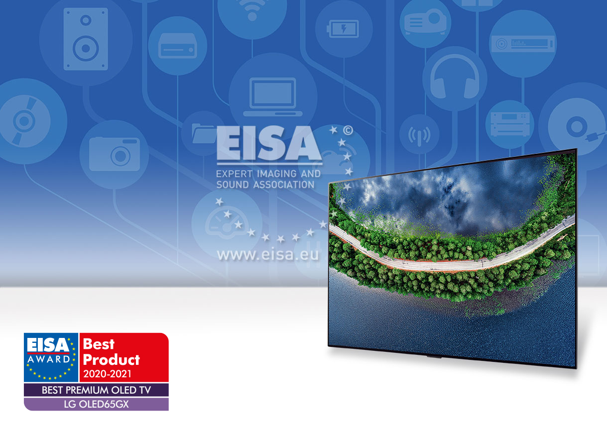 EISA BEST PREMIUM OLED TV 2020-2021