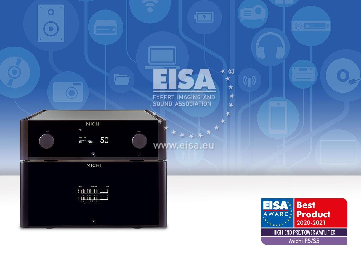 EISA HIGH-END PRE/POWER AMPLIFIER 2020-2021