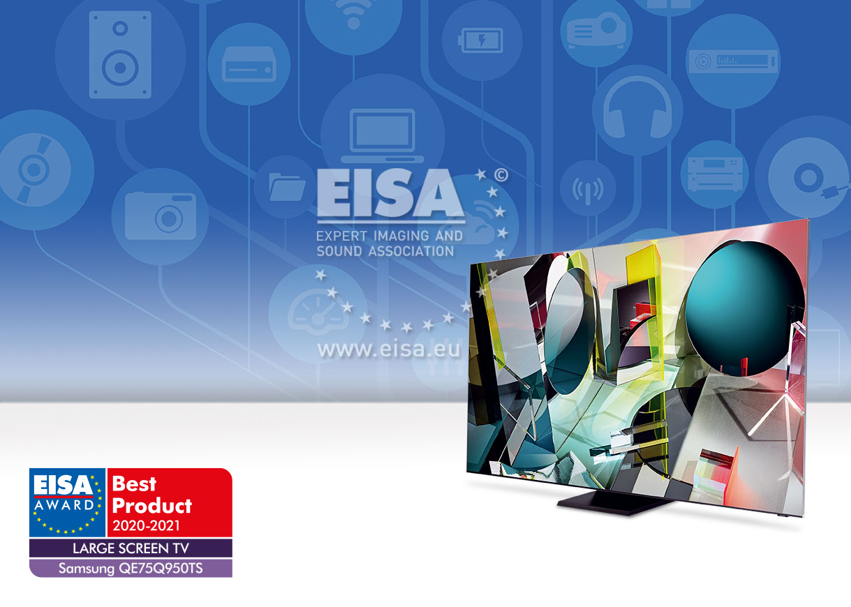 EISA LARGE SCREEN TV 2020-2021