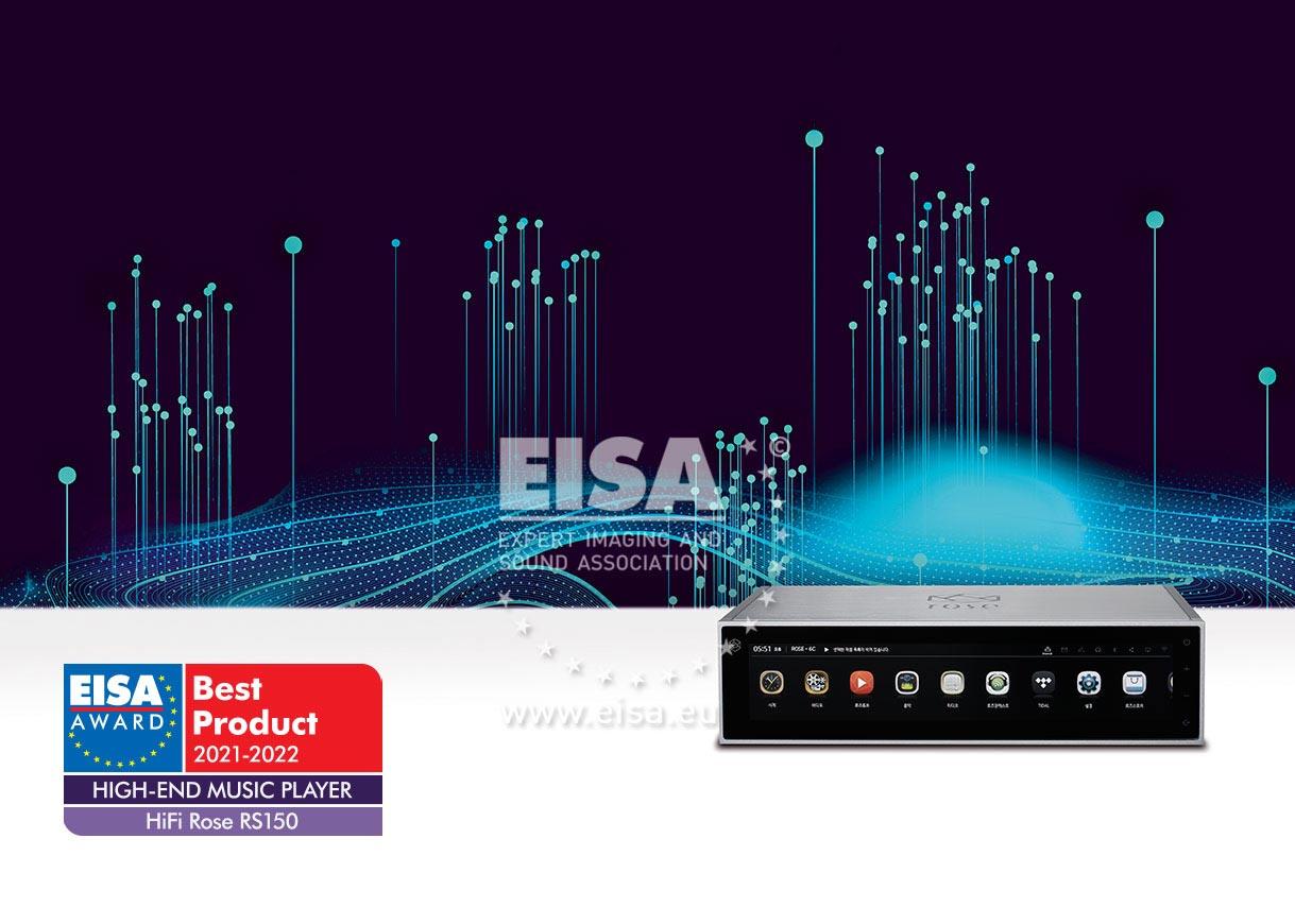 EISA HIGH-END MUSIC PLAYER 2021-2022
