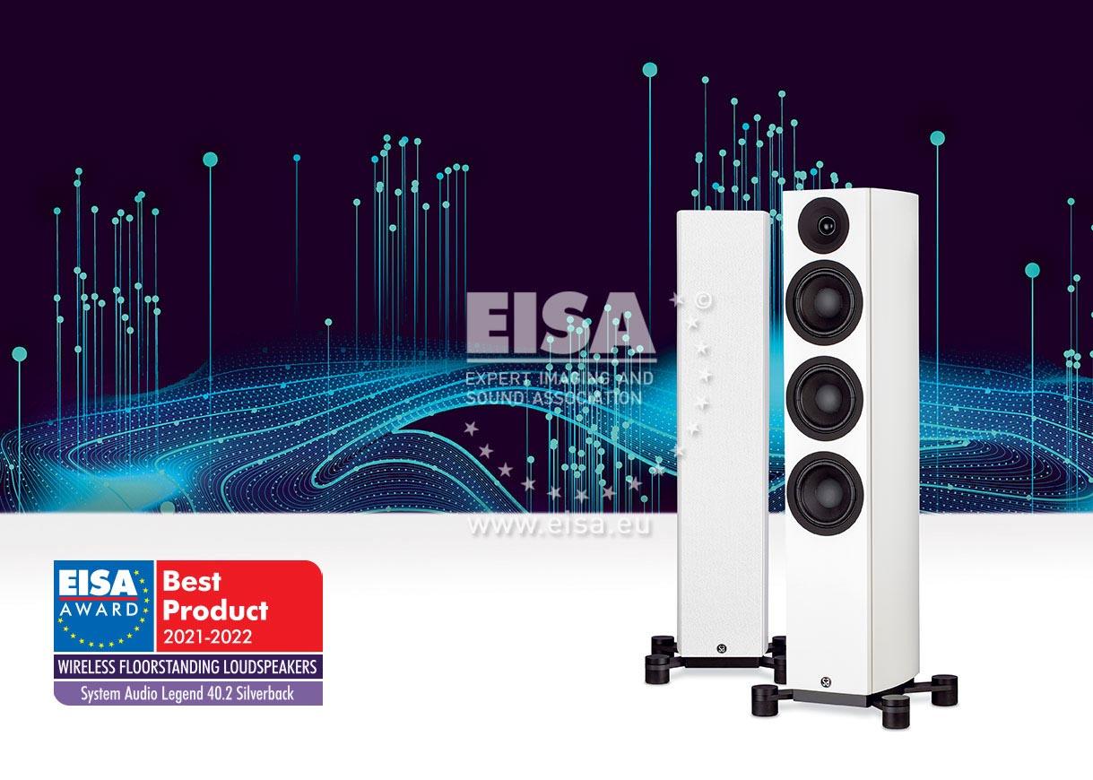 EISA WIRELESS FLOORSTANDING LOUDSPEAKERS 2021-2022